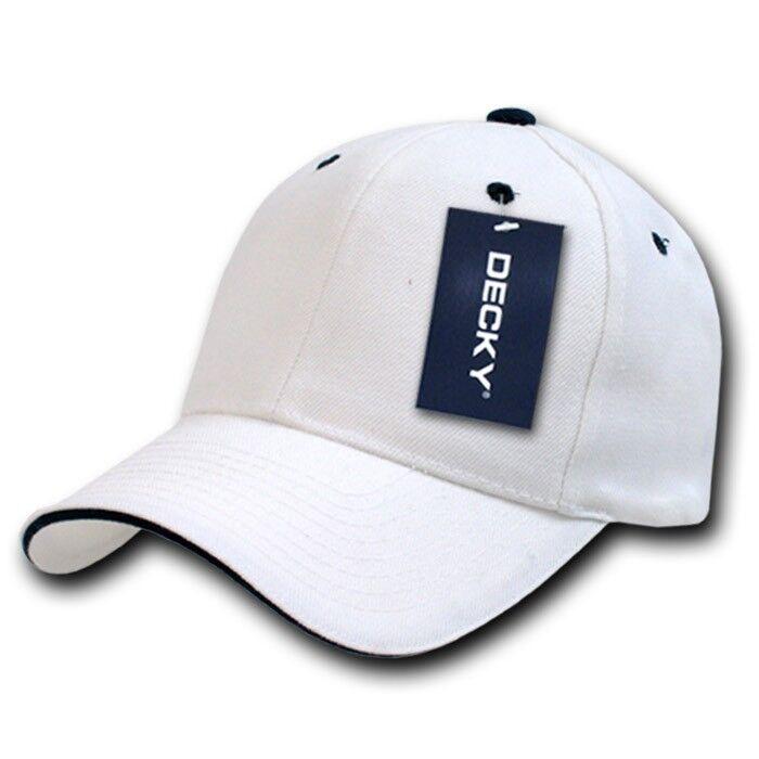 White & Black Sandwich Visor Bill Plain Blank Baseball Ball Hat Cap Hat Ball Caps Hats 5ac435