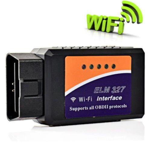 Wireless ELM327 OBDII OBD2 WiFi Car Diagnostic Scanner Tool For Smartphones