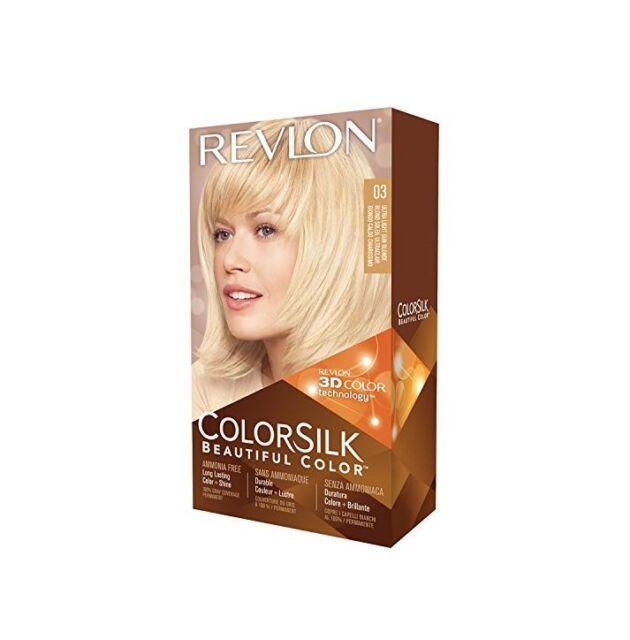Revlon Colorsilk Hair Color 03 Ultra Light Sun Blonde 1 Each Ebay