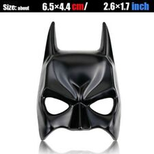 Batman Face Mask Car Auto Badge Motor Emblem 3d Metal Sticker Chrome Black