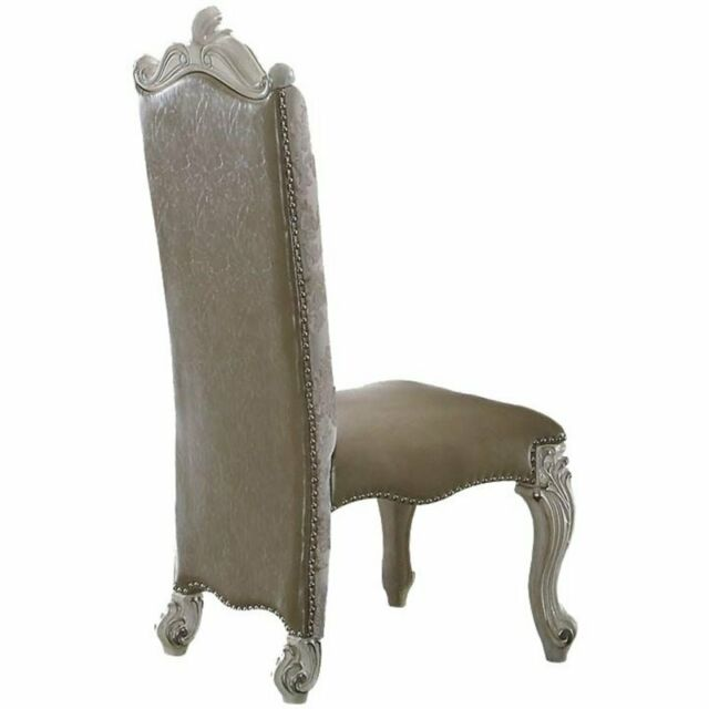 Remarkable Acme Furniture Versailles Dining Side Chair Set Of 2 Lamtechconsult Wood Chair Design Ideas Lamtechconsultcom