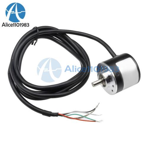 New 360P//R Incremental Rotary Encoder AB phase encoder 6mm Shaft W coupling