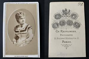 Reutlinger-Paris-Reynold-actrice-Vintage-albumen-print-CDV-Antonia-Stella
