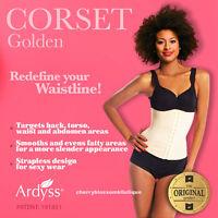 Ardyss Authentic Golden Corset Body Magic Waist Training Cincher Firm Control