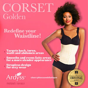 ce60af46c7a Image is loading ARDYSS-AUTHENTIC-GOLDEN-CORSET-BODY-MAGIC-WAIST-TRAINING-