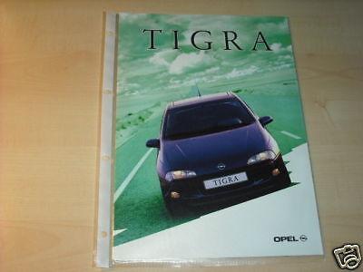 10609) Opel Tigra Prospekt 1994