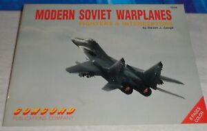 MODERN-SOVIET-WARPLANES-Fighters-amp-Interceptors-CONCORD-1991-STEVEN-J-ZALOGA