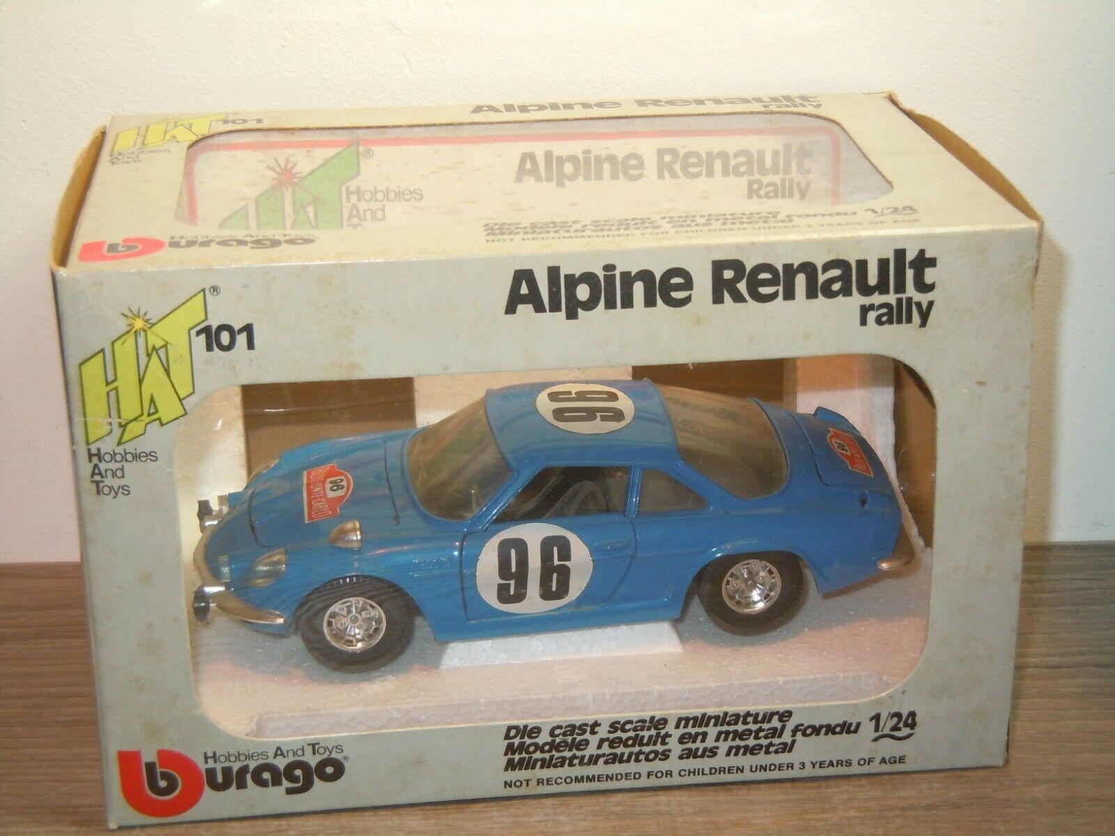 Alpine Renault Rally - Bburago HAT 101  1 24 in Box 36878
