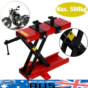 Motorcycle-Lift-Table-Air-Hydraulic-Bike-Jack-Stand-Hoist-Lifter-500KG-uf