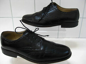 Da-Uomo-Clarks-Scarpe-Di-Pelle-Nera-Smart-Abito-Scarpe-Misura-UK-7-5-Formale