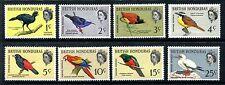 British Honduras 167-174 MNH 1962 Birds: Great Curassow, Scarlet Macaw,. x19138