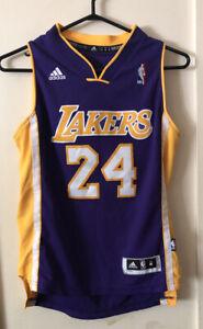 Kobe Bryant Lakers Jersey Adidas Youth Size M (10-12) Length 2 #24 ...