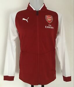d0209a54e7e ARSENAL 2018 19 RED DAHLIA STADIUM JACKET BY PUMA SIZE MEN S LARGE ...