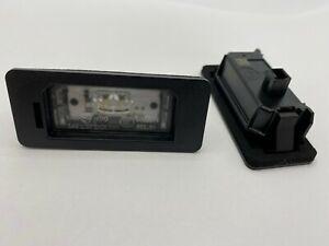63267193293 2x Original LED Kennzeichenleuchten Nummernschildbeleuchtung für BMW