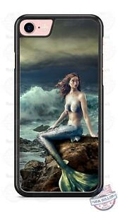 Mermaid-Beach-Ocean-Fantasy-Mystical-SciFi-Phone-Case-fits-iPhone-Samsung-LG-etc