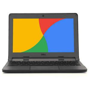 Dell-Chromebook-11-6-034-Laptop-Computer-Intel-Dual-Core-4GB-RAM-16GB-SSD-WiFi-HDMI