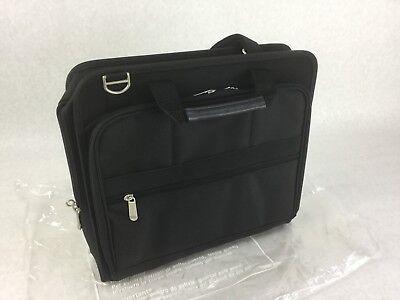 "NEW HP Genuine Black 15.4/"" Basic Notebook Laptop Carrying Case Bag Model AJ078AA"