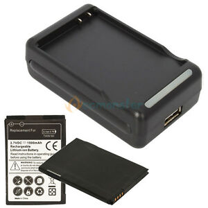 2X-1500mAh-Battery-Dock-Charger-For-HTC-Droid-Incredible-2-6350-S-S710E
