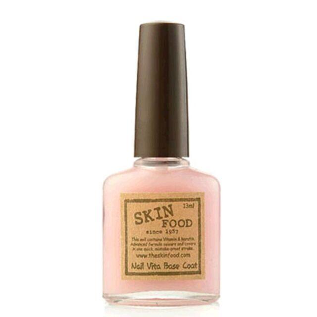 SKINFOOD Nail Vita Base Coat -Korea Cosmetics