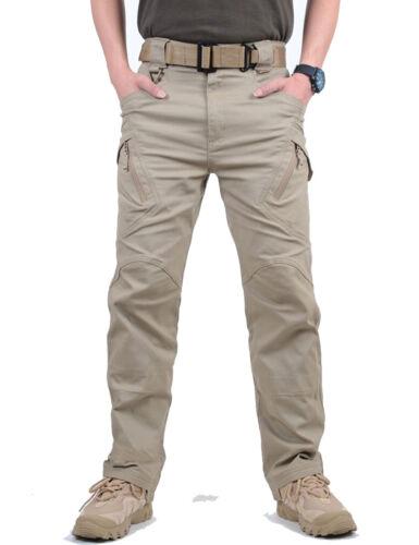 Tacvasen IX9 HOMMES TACTIQUE PANTALON CARGO Safari EXPEDITION Entraînement Pantalon