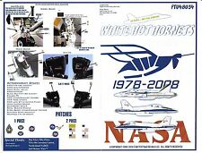 Fightertown F/A-18A, C Hornet, NASA Decals 1/48 034, 3 Options, 30th ANN. DO