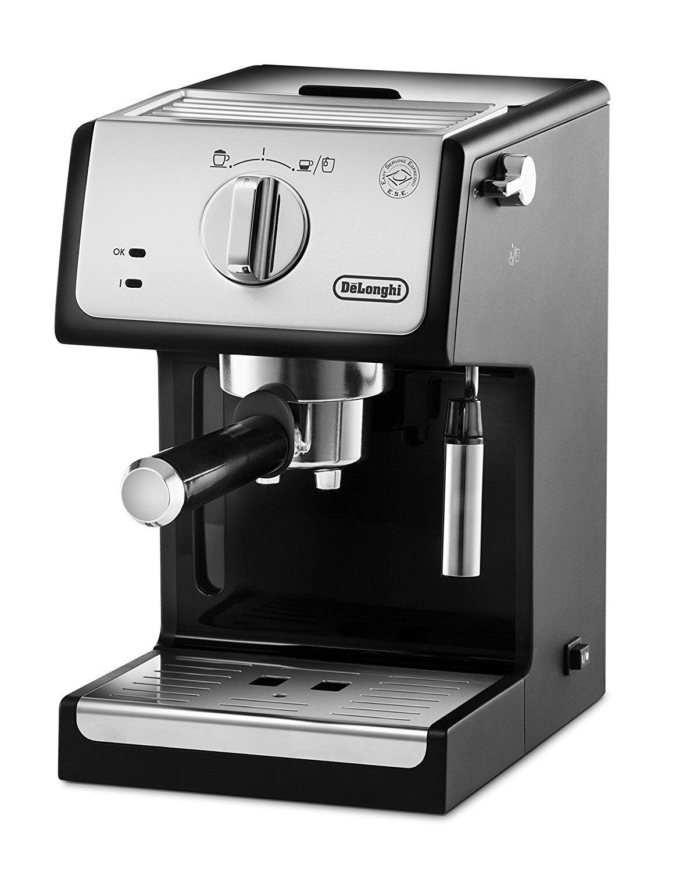 De'Longhi ECP33.21 Cafetera Espresso Apta Café Molido y Monodosis ESE Acero Inox