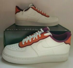 Details about Nike AF1 Air Force 1 Low '07 LV8 1 SE Sail Orange AO2439 101 Men's Size 13 NEW