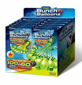 Zuru Bunch O Balloons -100 Water Balloons fills in 60 seconds -Colors Vary, NEW!