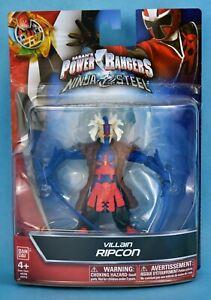 Saban/'s Power Rangers Ninja Steel Villain Ripcon New In Box