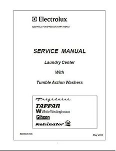 repair manual electrolux washers choice of 1 manual see below for rh ebay com electrolux service manual dryer electrolux service manual dishwasher