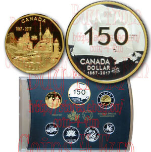 2017-Canada-150-Our-Home-and-Native-Land-Special-Edition-Silver-Proof-7-Coin-Set