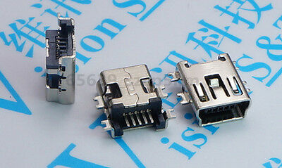 20 pcs Mini USB Type B Female 5 Pin SMT SMD Shen board PCB Socket Connector