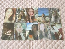 Lot of 10 JESSICA 1st Mini Album WITH LOVE, J Photocard Full Set KPOP SNSD Fly