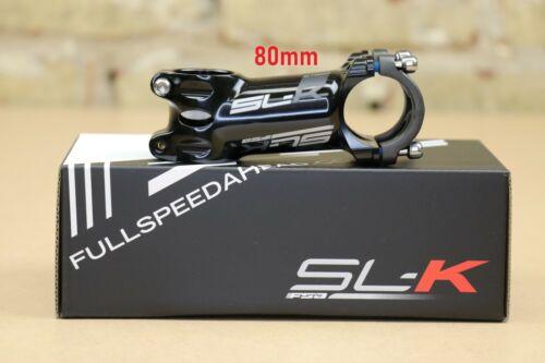 """FSA SL-K Alloy Stem 80 110mm 1-1//8/""""  Bar Clamp 31.8 Road // MTB Bike 90 100"""
