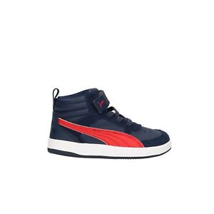 Bambino Mod Puma Peacoat V2 Alte Sneakers Rebound Scarpe