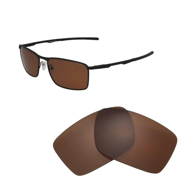 f6dc81ebfd Walleva Brown Polarized Replacement Lenses For Oakley Conductor 6 Sunglasses