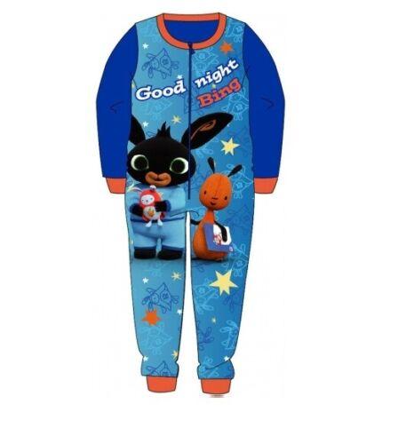 Boys Girls Kids All in One Fleece Character Pyjamas Sleepsuit 1onesie Nightwear
