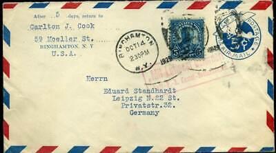 407988) Flugpost R2 Mit Luftpost...kassel-bettenhausen, Luftpost-ga Usa Mit Zf