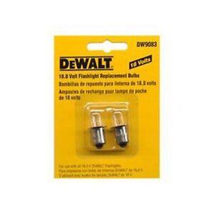 Dewalt DW9083 18V Taschenlampe/F<wbr/>lutlicht Birnen