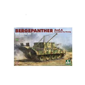 Takom 02101 Bergepanther Ausf A Demag w Interior 1 35 Scale Kit