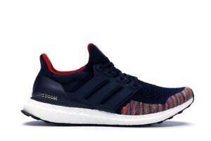 Mens Adidas Ultra Boost 1.0 Retro Navy Multi Color Toe BB7801