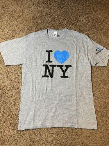 9/11 Memorial I Love New York Heart NY T-Shirt Uni
