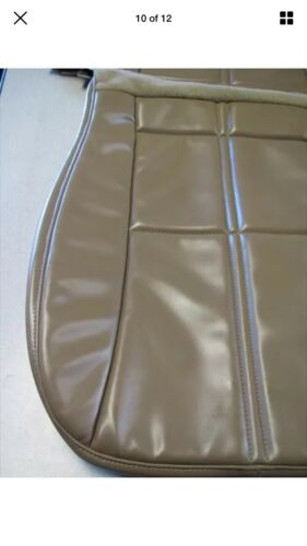 1993 1995 Chevy Camaro Tan Front Upper And Lower Seat Cover NEW!
