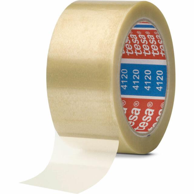 0,05€//1m 50mm x 66m tesapack 4124 Packband Klebeband Verpackungsklebeband