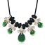 Fashion-Jewelry-Crystal-Choker-Chunky-Statement-Bib-Pendant-Women-Necklace-Chain miniature 159