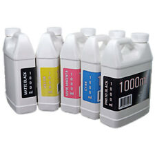 Dye Sublimation Ink 5 1000ml Bottles For Epson Surecolor Printers Non Oem Ink
