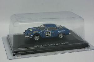 Eligor-Presse-1-43-Alpine-Renault-A110-Coupe-des-Alpes-1971