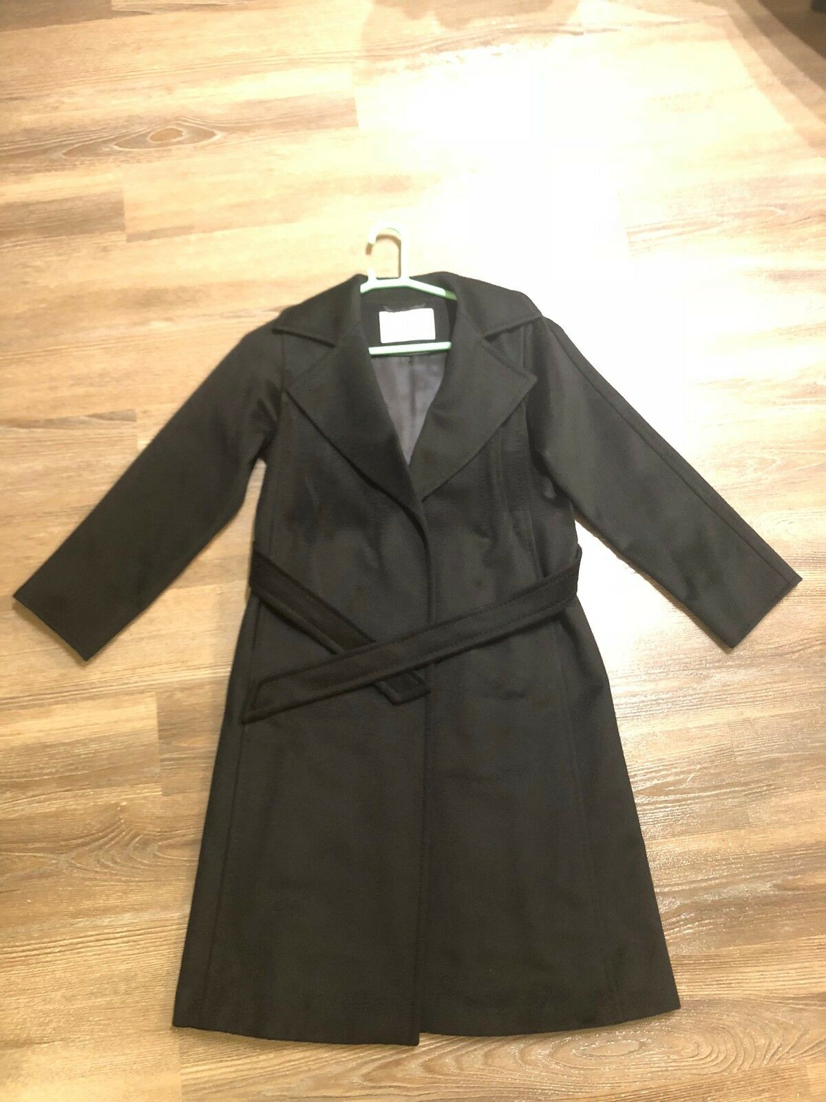 Max Mara 101801 Madame Belted Coat In Camel - US 0