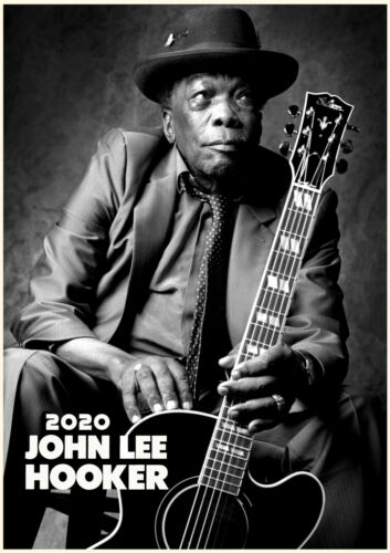 JOHN LEE HOOKER America Blues Music Photos M1185 2020 Wall Calendar 12 page A4