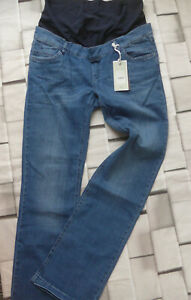 Bellybutton-Maternity-Jeans-Trousers-Schwangerschaftsjeans-Ladies-Size-42-Blue